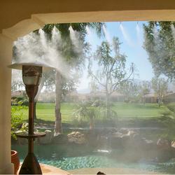 Системы туманообразования для летних кафе и беседок