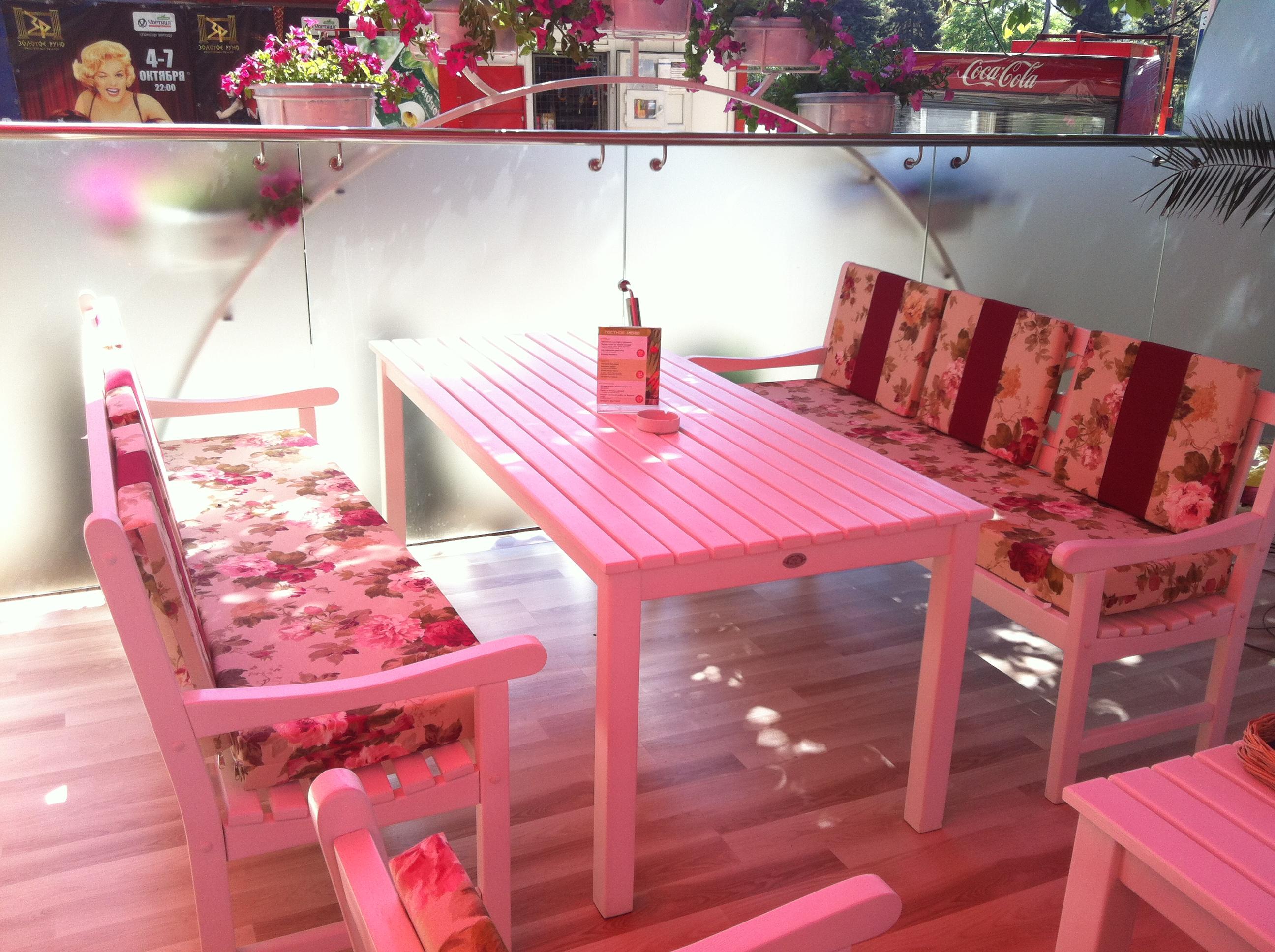 Мебель для летнего кафе: стулья, столы, оборудование для ... Имидж Компании